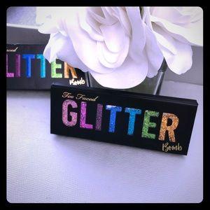 New! Too Faced Glitter Bomb palette